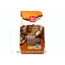 Muesli goloso cioccolato e cocco