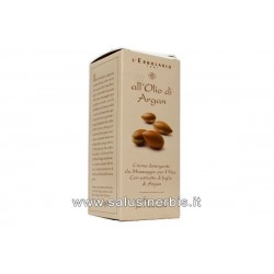 Crema detergente viso all'argan