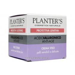 Acido Ialuronico - Crema Viso anti-age per pelli sensibili e delicate