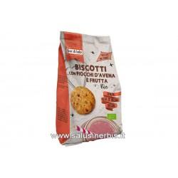 Biscotti con fiocchi di avena e frutta