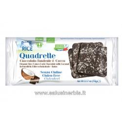 Quadrette Cioccolato Fondente E Cocco
