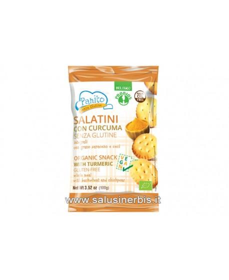 Salatini con grano saraceno e curcuma