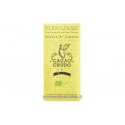 Cioccolato crudo Scorze di Limone
