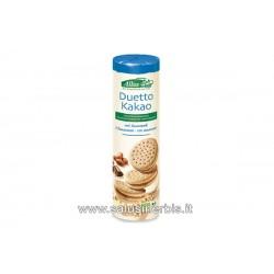 Biscotti farciti con crema al cacao