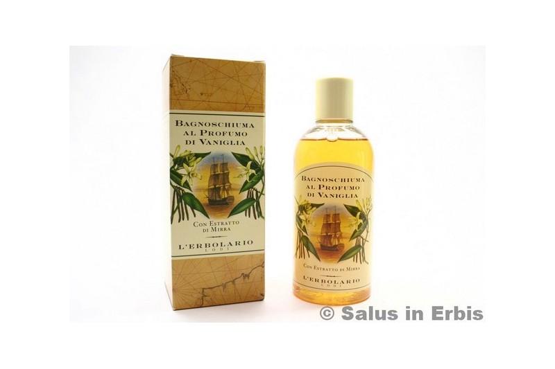 Bagnoschiuma Erbolario : Bagnoschiuma alla vaniglia